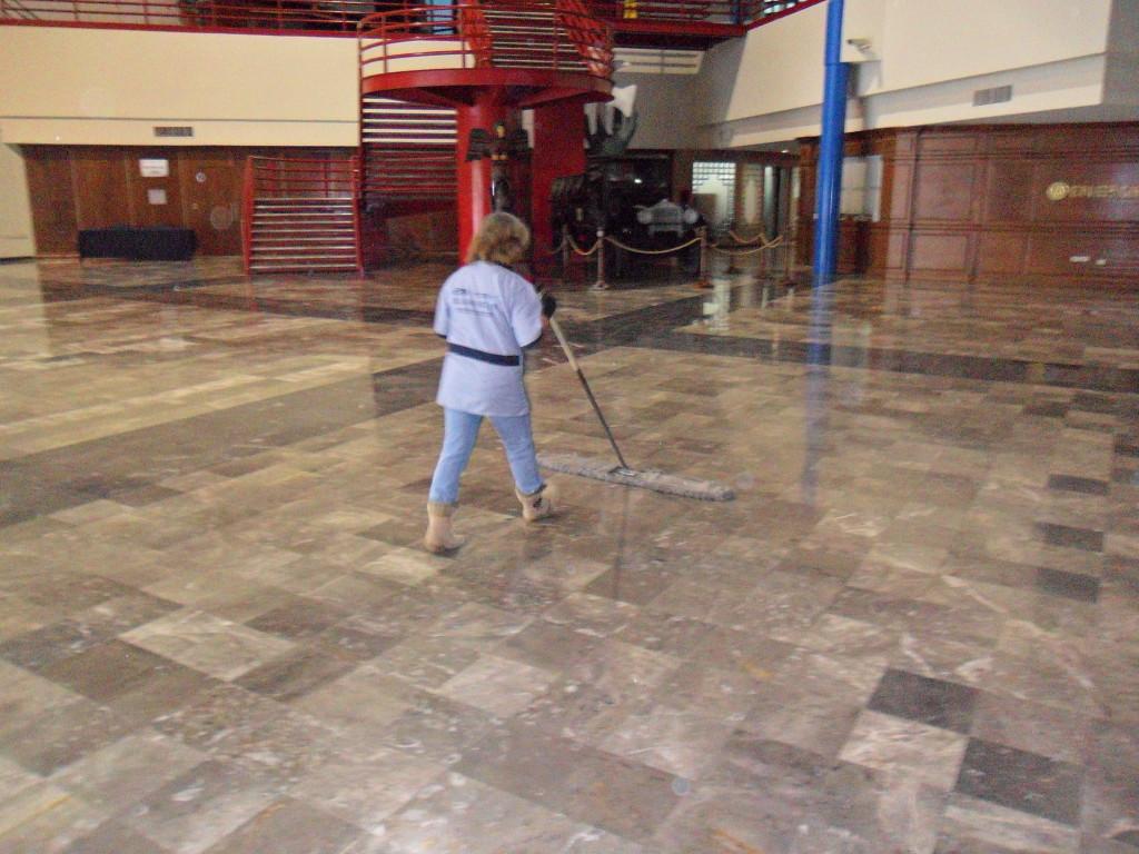 servicio de limpieza para centros de convenciones